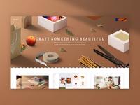 Krafti Arts & Crafts Theme