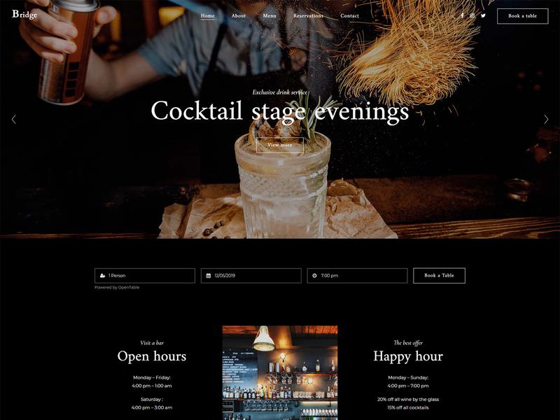 Cocktail Bar alcohol craft cocktails liquor food drinks cocktails bar elegant dark