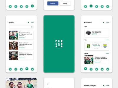 """Redesign Mobile Apps """"Persebaya Selamanya"""" ui flat mobile app design mobile app mobile app ux design ux  ui ux ui  ux uiinspirations uiinspiration ui  ux design uidesign design"""