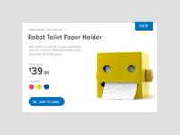 Robot Paper Toilet Holders