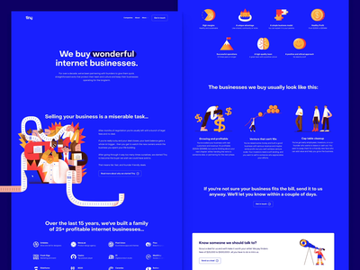Tiny — New Website is Live! 🎉 webflow illustrations about investing investor investment website design website web landing dribbble tiny