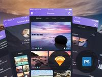 Night&Travel UI Kit - Released!