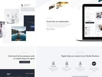 Rpple - Landing page (WIP)