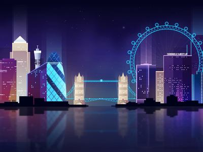 London Dribbble Meetup - Neon London