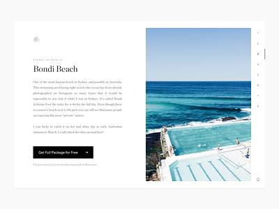 Round-the-World Wallpapers (FREE) australia new york download freebie navigation simple landing cart minimal white clean wallpaper