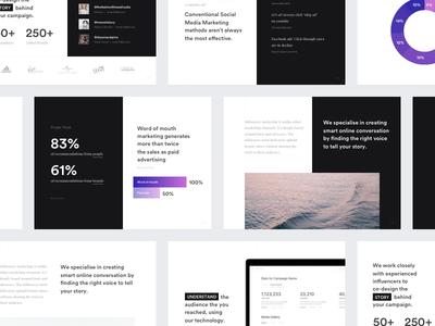 Filli - Product Deck presentation product clean dashboard profile graph deck web summary minimal keynote powerpoint