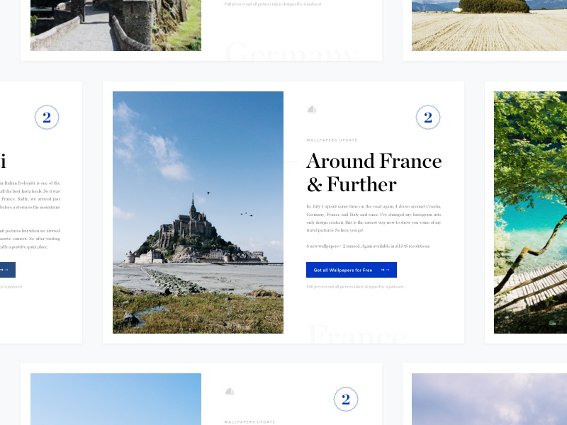 Download Around France & Further (Wallpapers vol. 2)(FREE)