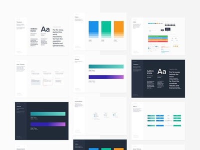 Branding Cards / from Symbols & Styleguides (Freebie)