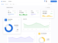 Analytics (Dashboard UI Kit 3.0)