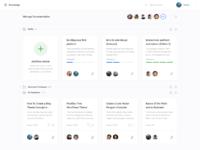 Manage documentation 2x