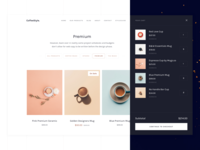 CoffeeStyle - Webflow eCommerce Bēhance