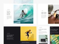 Prospero UI Kit - More Layouts web wireframe landing webflow uikit uiux ui ecommerce
