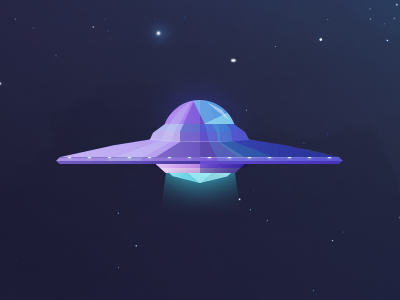 Dribbble ufo