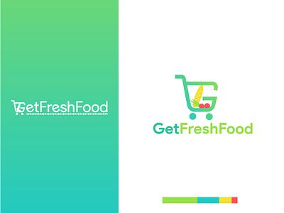 GetFreshFood logo design branding