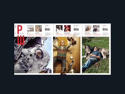 Magazine design / layout / prepress