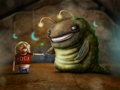 Magical wand digital art digital illustration character design photoshop procreate