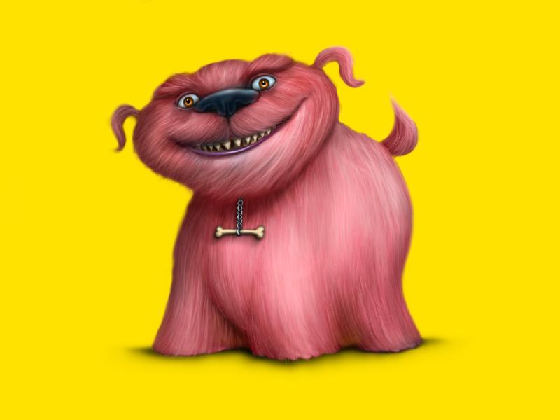 Pinky digital art character design digital illustration photoshop procreate