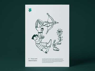 Balkan Brothers - Illustrations collaboration services team agency determination values branding illustration