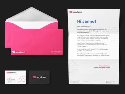 Sendlane - Visual Identity saas newsletter email marketing arrows scribbles visual identity identity branding
