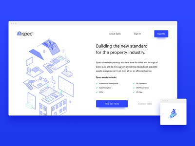 Spec Website Illustrations buildings illustration vector isometric