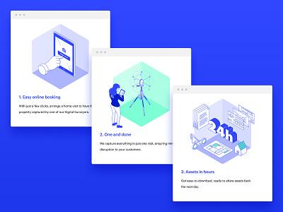 Spec Website Illustrations isometric vector buildings illustration