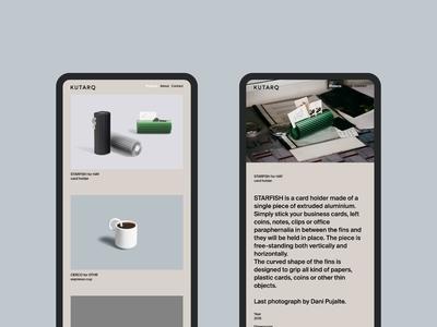 KUTARQ Web Design - Mobile
