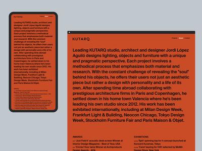 KUTARQ Web Design