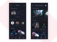 Music App Discover