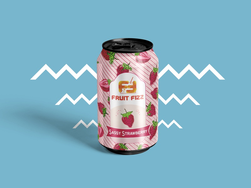Fruit Fizz - Sassy Strawberry