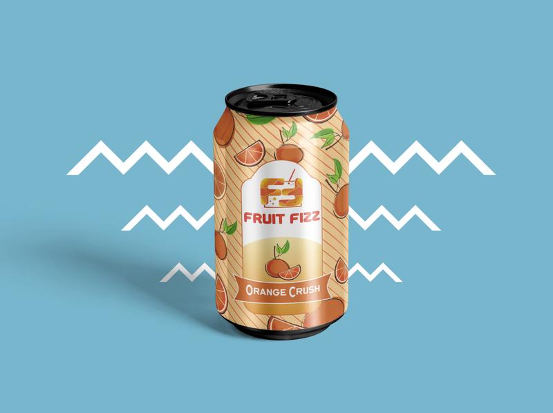 Fruit Fizz - Orange Crush