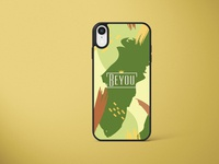 Beyou - phone cover - coconut mockup vector logo flat branddesign brand identity branding illustration design