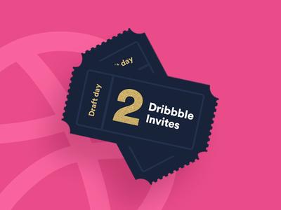 Dribbble invites for the masses* ( *2 )