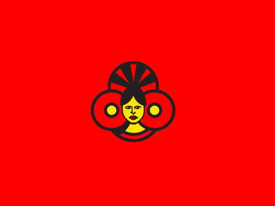El Arousa Tea - Logo design illustration branding brand logo design girl face character design character tea bride