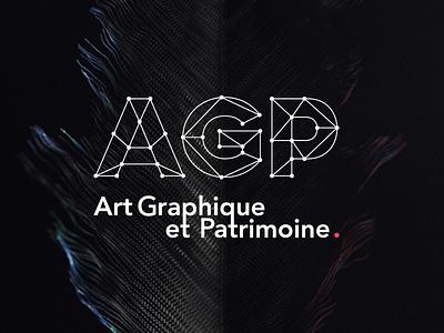 Art Graphique & Patrimoine typography graphicdesign luxury logo branding design