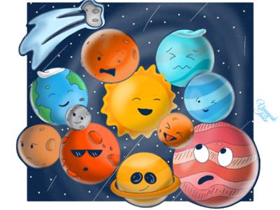 Emoji Planets