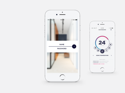 HouseKpr App - Login screen concept iphone app design app concept app design app design mockup product design product smart home app smart home ux design ui ux ui design uidesign uid