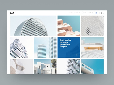 MS Architects - portfolio page grid layout grid design clear design minimal web design minimal website minimal architects portfolio design portfolio website design website ux ui design ux designer ux ux  ui ui designer ui design ui design web  design