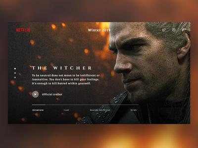The Witcher Netflix Concept