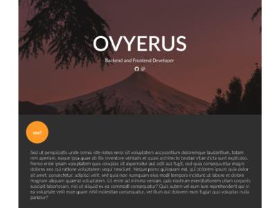 Portfolio Design - Ovyerus.com web design