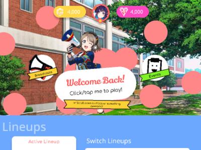 Lovewing v4 UI ui design game