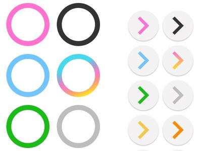 Live Simulator 2 - Hit notes design - Lovewing [Preview] ui design game