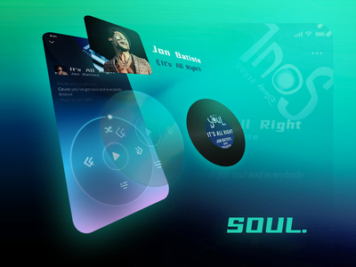 Music Page_SOUL version jazz ux music design ui