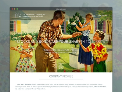 Jmbarcelon.com - family business site WIP
