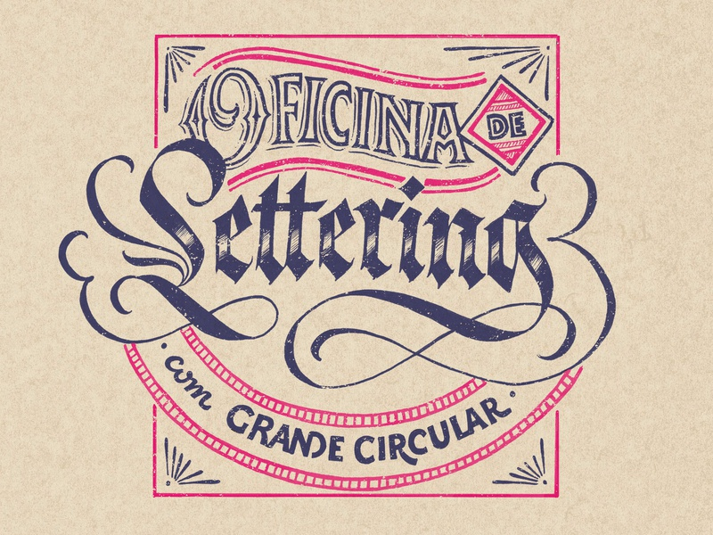 Lettering workshop poster calligraphy illustration lettering art lettering typography design