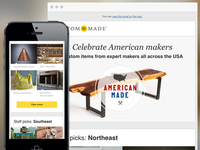 Responsive Email Digest 2014.07 responsive rwd email responsive email ecommerce ecomm flat mobile clean engagement art direction