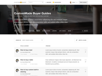 Buyer Guide Index