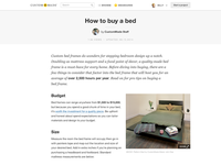 Responsive Buyer Guide Template