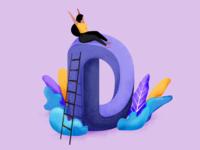 36 days of type - D