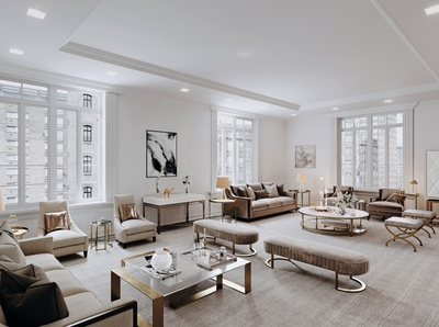 New York apartment - 3d rendering