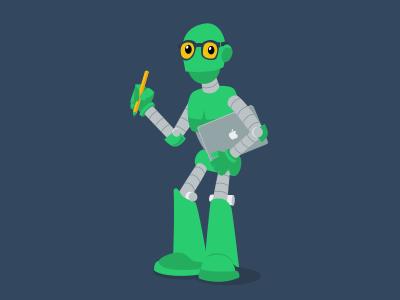 Creative Robot robots illustration character design vector
